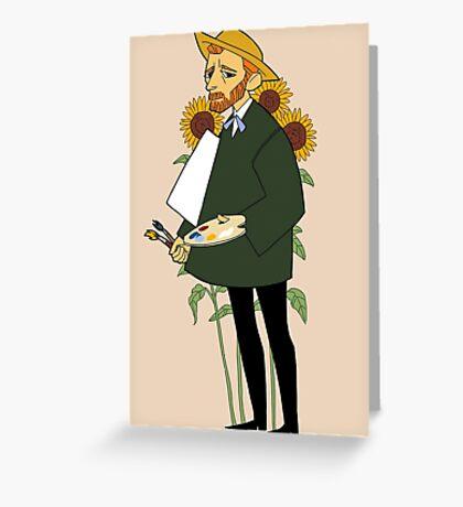 artist series - van gogh Greeting Card