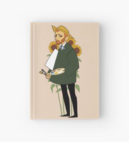 artist series - van gogh Hardcover Journal
