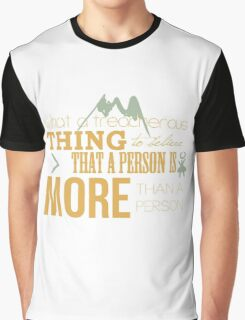 A Treacherous Thing Graphic T-Shirt