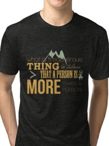 A Treacherous Thing Tri-blend T-Shirt
