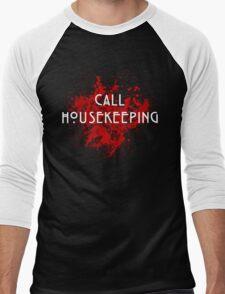 American Horror Story Hotel    Call Housekeeping Men's Baseball ¾ T-Shirt