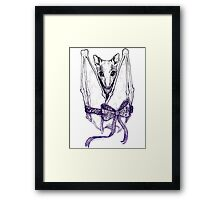 Fruit Batty Framed Print