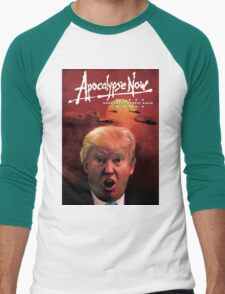 Donald Trump Apocalypse Now Men's Baseball ¾ T-Shirt