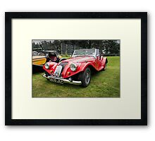 Griffon 110 Roadster Car Framed Print