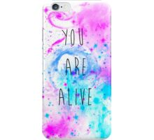 You are Alive (Invert) iPhone Case/Skin