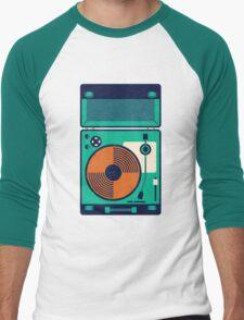 Record Player Men's Baseball ¾ T-Shirt