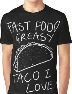 Taco Bell Saga (White) Graphic T-Shirt
