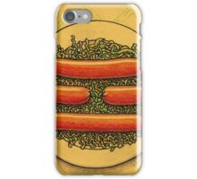 Würstel and sauerkraut for I-ching iPhone Case/Skin
