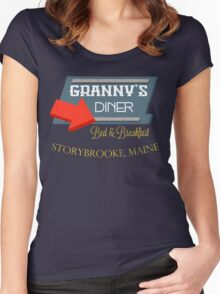 Granny's Diner Women's Fitted Scoop T-Shirt
