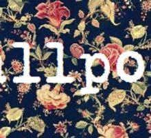 Floral Smallpools Sticker