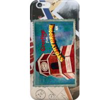 Greetings From Storybrooke Post Card iPhone Case/Skin