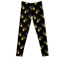 Harry Potter Snitch Design Leggings