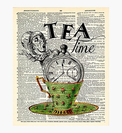 tea time - mad hatter  Photographic Print