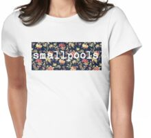 Floral Smallpools Womens Fitted T-Shirt