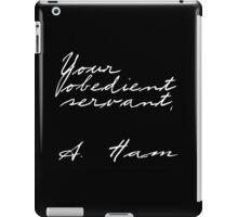 A. Ham iPad Case/Skin