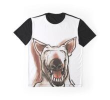 cartoon style smiling dog Graphic T-Shirt
