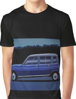 Renault 4 Painting Graphic T-Shirt