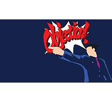 Objection lawyer Photographic Print
