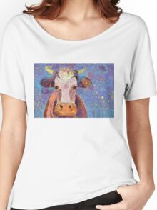 THE COW WITH THE CRUMPLED HORN Women's Relaxed Fit T-Shirt