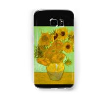 'Twelve Sunflowers' by Vincent Van Gogh (Reproduction) Samsung Galaxy Case/Skin