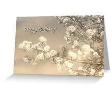 Birthday in the Garden Greeting Card