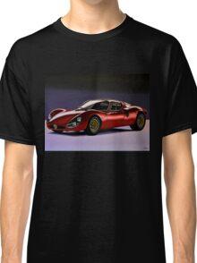 Alfa Romeo 33 Stradale Painting Classic T-Shirt
