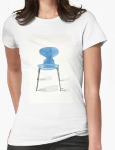 Ant Chair - Watercolor Painting Womens Fitted T-Shirt