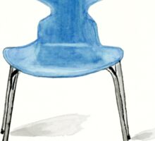 Ant Chair - Watercolor Painting Sticker