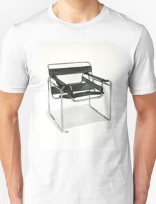Wassily Model Chair  No. B3 - Watercolor painting  Unisex T-Shirt