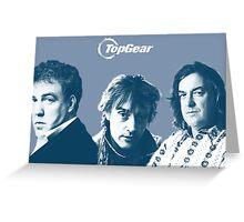 Top Gear Greeting Card