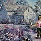 Danny's Cottage Garden by David Irvine