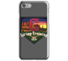 Cleveland Indians Spring Training 2016 iPhone Case/Skin