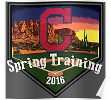 Cleveland Indians Spring Training 2016 Poster