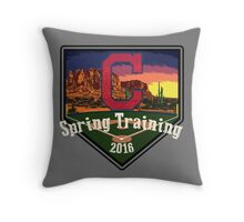 Cleveland Indians Spring Training 2016 Throw Pillow