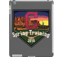 Cleveland Indians Spring Training 2016 iPad Case/Skin