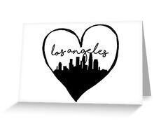 I Heart LA // Los Angeles Greeting Card