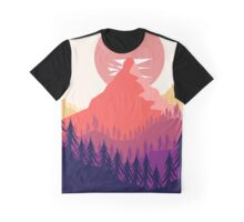 Mountain Tops Graphic T-Shirt