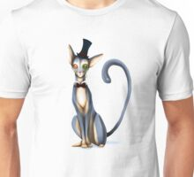 Monocle Kitty Unisex T-Shirt