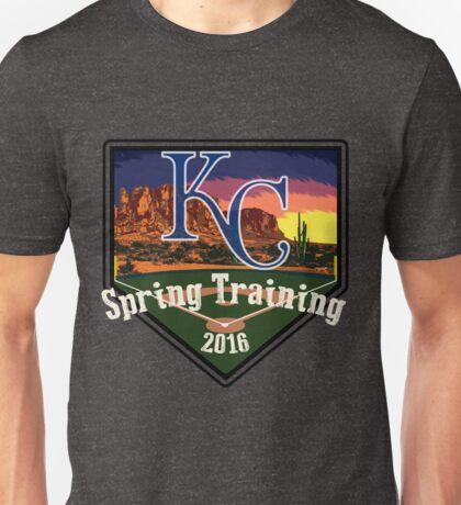 Kansas City Royals Spring Training 2016 Unisex T-Shirt