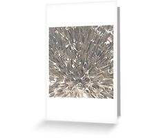 Macro Fractal Abstract Greeting Card