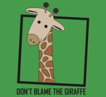 DON'T BLAME THE GIRAFFE One Piece - Short Sleeve