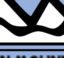 LOON MOUNTAIN NEW HAMPSHIRE Skiing Ski Mountain Art Sticker