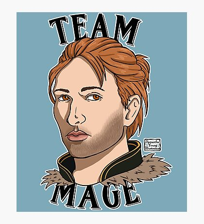 Team Mage Anders Photographic Print