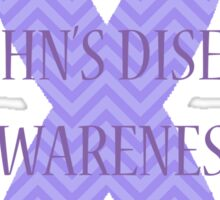 Crohn's - Chevron Sticker