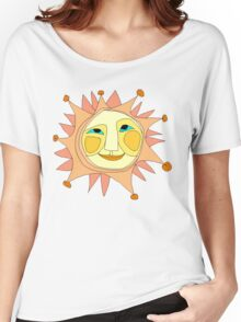 Sun Or Moon Or Stars Up In The Sky Women's Relaxed Fit T-Shirt