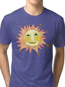 Sun Or Moon Or Stars Up In The Sky Tri-blend T-Shirt