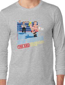 Retro- Axe V Juicy Long Sleeve T-Shirt