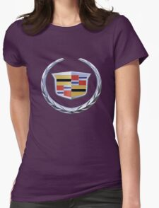 cadillac super retro Womens Fitted T-Shirt