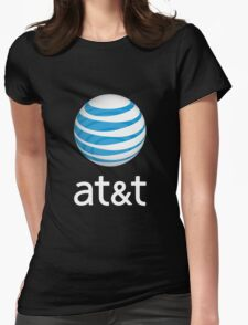 people at&t vintage Womens Fitted T-Shirt