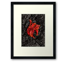 Playing Dead Framed Print